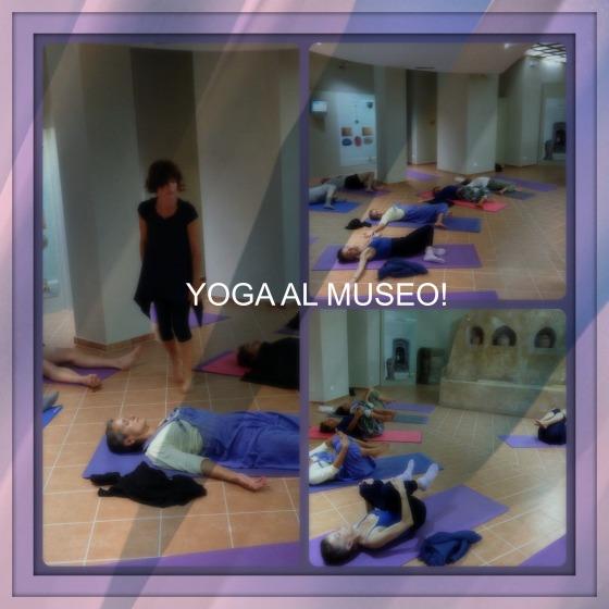 yoga al museo
