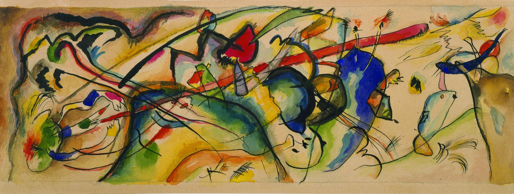 kandinsky paintings guggenheim - HD2060×779