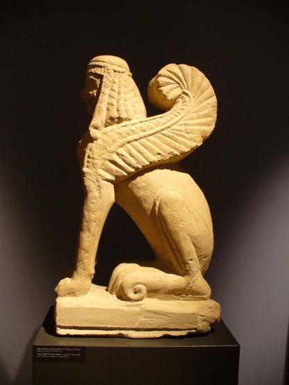 Chiusi - Sfinge - etrusca